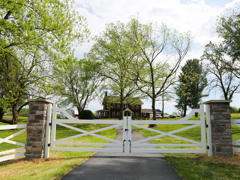 claihill farm outside gates