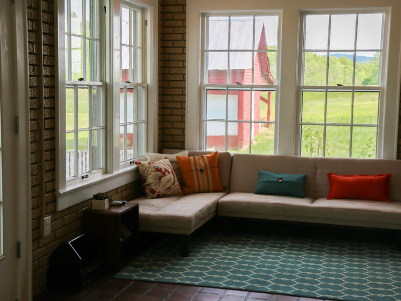 claihill farm sunroom